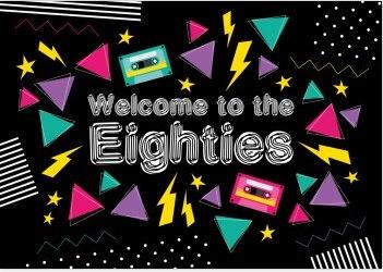 Willkommen zu den Achtzigern, zur 80er-Jahre-Party