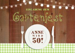 Ein Gartenfest feiern, das macht Spaß