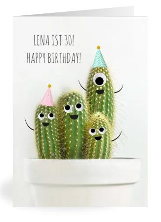 Kaktusparty; Kaktus