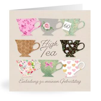 Geburtstagseinladung zum High Tea!