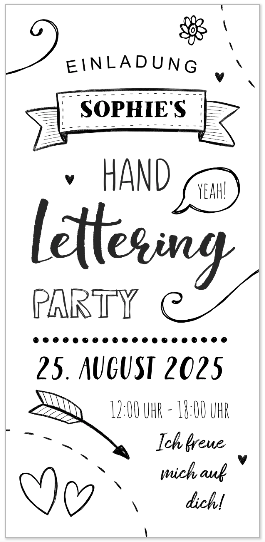 Handlettering Party