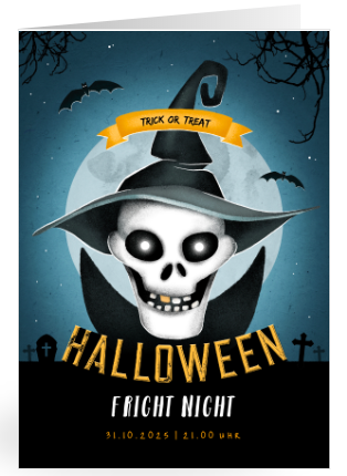 Einladung Halloweenparty