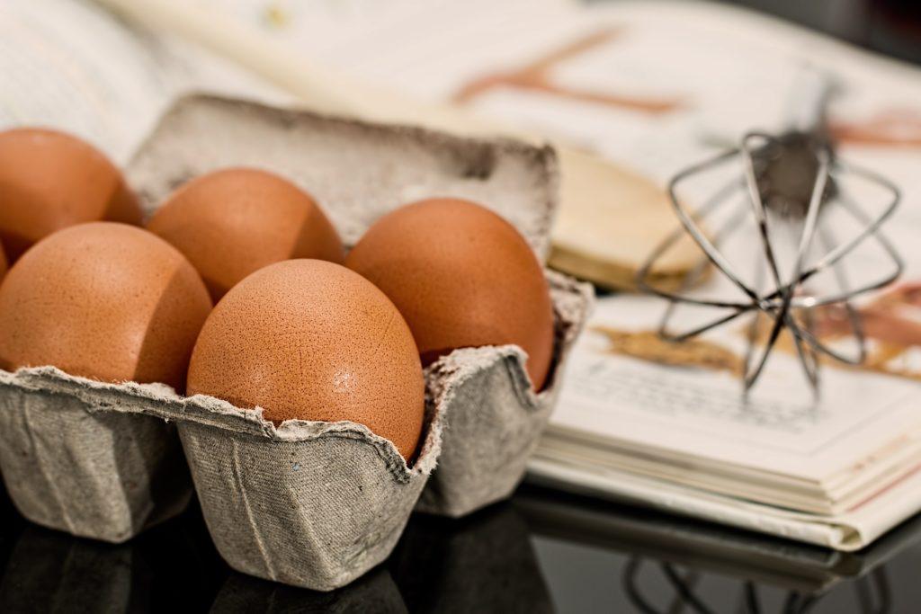 Eier braucht man oft fürs Kuchen backen