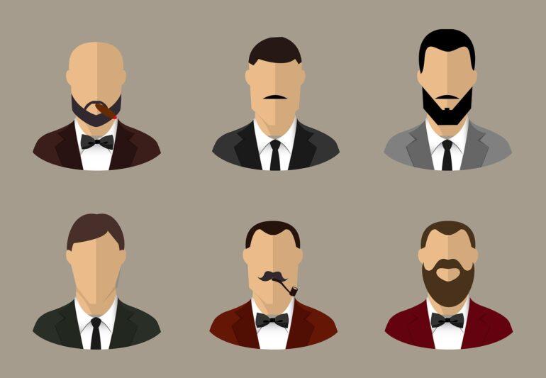 Porträts der Gäste