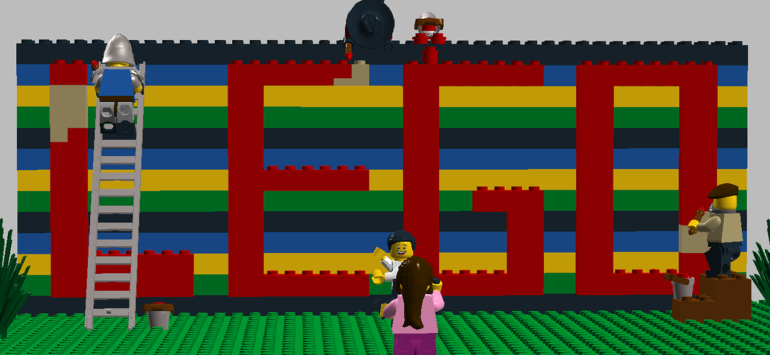 Legogeburtstag